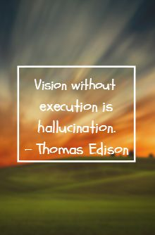 Need good execution, not just talk.