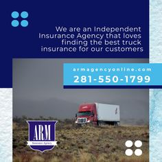 We can get you covered within hours, not days. Dump Trucks, Cool Trucks, Independent Insurance, Insurance Agency, That's Love, Customer Service, Houston, Arm, Cover