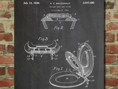 Toilet Seat Patent 1934 - www.eklectica.in #eklectica