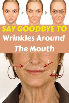 6 homemade solutions to get rid of wrinkles around the mouth. You'll take years off your looks with facial exercises. Try face yoga today and you'll be delighted with the results. Lip Wrinkles, Prevent Wrinkles, Bleaching Dark Hair, Prévenir Les Rides, Facial Exercises, Healthy Beauty, Healthy Aging, Eating Healthy, Best Anti Aging