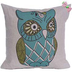 Caryko Home Decor Cotton Linen Square Pillow Case Cushion Cover Cute Owls (Owl-pattern) Caryko http://www.amazon.com/dp/B00XYSTT5C/ref=cm_sw_r_pi_dp_6Gwxvb08YDFSH
