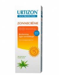 Urtizon Zonnebrandcrème SPF15 150 ml  Wat is Urtizon? Urtizon is speciaal ontwikkeld voor de gevoelige huid die snel last heeft van zonneallergie. De zonnecrème beschermt de huid tegen verbranding en andere schadelijke gevolgen van de zon.  EUR 14.50  Meer informatie  #drogist