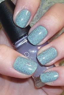 Very creative nail site using Konad stamps.