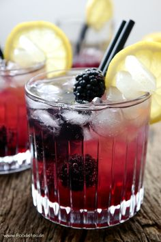 Blackberry Cooler | foodistas.de
