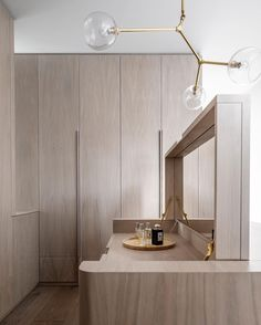"""thedpages: """" Closet design in limed American Oak by Luigi Rosselli Architects and Alwill Interiors. Photo by Justin Alexander. Inspiration Design, Interior Inspiration, Design Ideas, Modern Interior, Interior Architecture, Dressing Design, Walk In Robe, Bedroom Wardrobe, Wood Bedroom"""