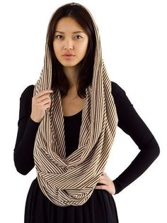 The Unisex Circle Scarf   Shop American Apparel - StyleSays