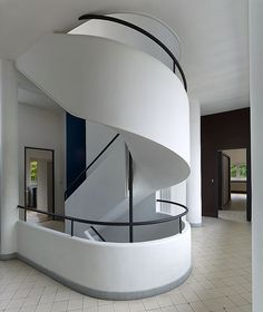 Stair Systems | Villa Savoye - Le Corbusier | Bayer Built Woodworks