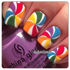 nails.quenalbertini: Instagram photo by elaineqxoxo | ink361
