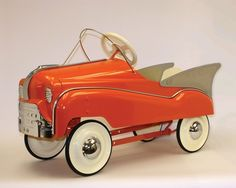 Vintage pedal cars = way cooler than Power Wheels!!
