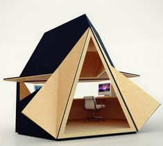 Innovative Home Office Space in ... the Garden
