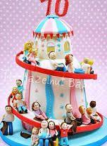 fairground cake - Google Search