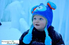 Loon mountain ice castle baby boy . http://www.facebook.com/pages/Photos-by-Nicole-Mutters/210703892317779