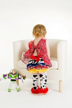Cow Print Legwarmers with Red Chiffon by WhimsyBlingBoutique, $7.00