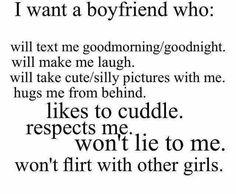 A boyfriend