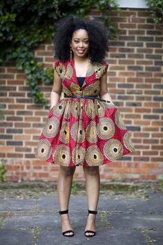 Beautiful material and design! Couples African Outfits, African Dresses For Kids, Latest African Fashion Dresses, African Dresses For Women, African Print Dresses, African Print Fashion, African Attire, African Lace Styles, Africa Dress