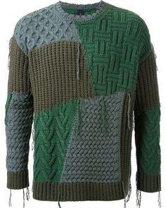 Из альбома Knit men. #вязаниеназаказ #вязаниемужчинам #мужскаяодежда #вязаниеназаказмосква #мужчина#мужчинамотvera #men#sweater #mensfashion #menssweater #knitmens