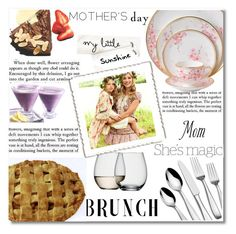 """Mother's Day Brunch"" by merima-balukovic ❤ liked on Polyvore featuring interior, interiors, interior design, home, home decor, interior decorating, Mikasa, Wedgwood, LSA International and Nicole"