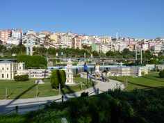 Estambul. MiniaturKpark. Estambul Puente Atatürk .