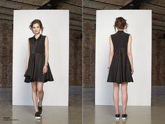 JE SUIS BELLE - 2014-es ősz-téli kollekciója ~ PIN MAGAZIN Anna Wintour, Hungary, Vogue, How To Make, Black, Dresses, Fashion, Vestidos, Moda
