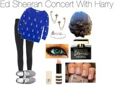 """""""Ed Sheeran Concert With Harry // Requested"""" by xx-kiss-you-xx ❤ liked on Polyvore"""