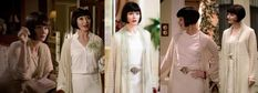 She looks amazing rocking the winter white look. 21 Reasons Why Miss Phryne Fisher Is A Fashion Icon 20s Inspired Fashion, 20s Fashion, Fashion Moda, Fashion Beauty, Vintage Fashion, Miss Fisher, Roaring Twenties, Sophia Loren, Mode Inspiration