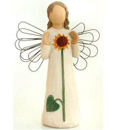 Sunflower, Willow Tree Angel