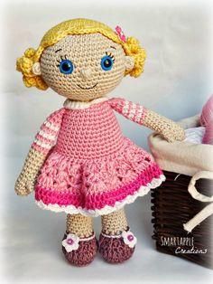 Smartapple Creations - amigurumi and crochet: Emma - amigurumi doll