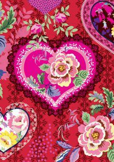 Roger la Borde | Heart Nouveau Greeting Card #love
