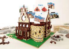 Wellesley Town Hall in LEGOs