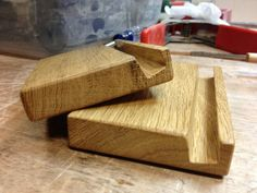 wood tablet stand or book stand