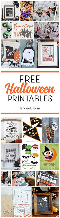 Best Ideas DIY and Crafts Inspiration : Illustration Description Darling free Halloween printables to make your Halloween decor spooktacular! Halloween Birthday, Halloween Boo, Holidays Halloween, Halloween Crafts, Holiday Crafts, Holiday Fun, Halloween Decorations, Fall Decorations, Holiday Ideas