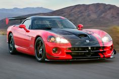 Dodge Viper ACR -- the most dangerous car ever ... : )