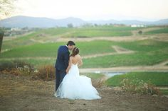 Brittani & Daniel's Summer Wedding was absolutely gorgeous!, such an amazing celebration here in Temecula Wine Country! All of these photos are from their real vineyard wedding at Mount Palomar Winery.