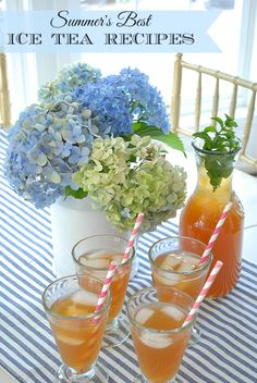 healthy green pomegranate tea for moms and a fun, lemonade tea ...