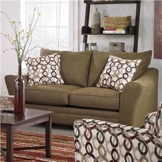 Carline Loveseat | Weekends Only Furniture and Mattress