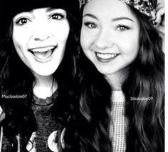 Bethany Mota & Meredith Foster  (macabrbie07-stilababe09) both of them in one picture! watch em' both.