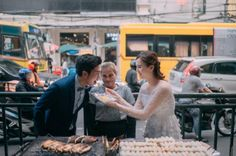 From Around The World Stomp - A couple have become internet darlings after releasing a set of hilarious and adorable pre-wedding photos, in which they show off their passion for food. Read more at STOMP. New York Wedding, Post Wedding, Wedding Story, Dream Wedding, Wedding Ideas, Couple Photography, Wedding Photography, Pre Wedding Photoshoot, Fashion Couple