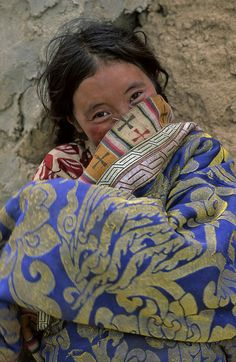 ragazza N'golok, Amdo Tibet Orientale, CINA by STEFANO PENSOTTI @ http://adoroletuefoto.it