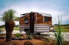 Richard Ward and How to Set Up an Off-Grid Tiny Homestead in the Desert Tiny House Layout, Tiny House Blog, Small Tiny House, Micro House, Tiny Houses For Sale, Tiny House On Wheels, House Layouts, Small Houses, Camping Set Up
