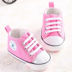 Upper Material: Cotton Fabric Pattern Type: Solid Outsole Material: Cotton Closure Type: Lace-Up Fashion Element: T-tied Season: Spring/Autumn Department Name: Baby Item Type: First Walkers