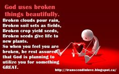 BROKEN #quotes #quoteoftheday #self #love #worthy #depression #strength #motivational Natural Health, Health And Beauty, Spirituality, How Are You Feeling, How To Plan, Love, Feelings, Amor
