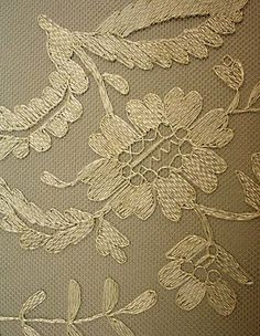 Wedding Veil, 19th century, Spanish
