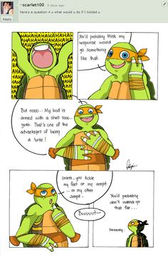 3rd Question- Le tickle by ~The-BIG-M on deviantART