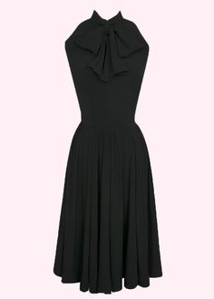 trashy diva streetcar dress in black
