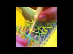 ▶ Rapunzel's Braid Rainbow loom bracelet part 2 - YouTube