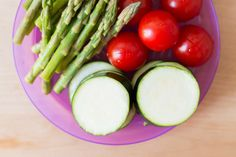 Marias Matglede ♥: Junisalat Norwegian Food, Vegetarian Food, Asparagus, Bbq, Vegetables, Veggie Food, Barbecue, Barbacoa, Vegetarian Cooking