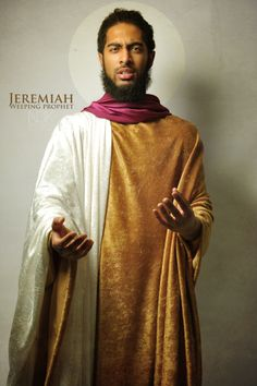 """Prophet Jeremiah ~Noire Icons of the Bible by James C. Lewis, International Photographer ~ """"How might Biblical characters really look? Afro, Blacks In The Bible, Kings & Queens, Black Royalty, Black Jesus, African Royalty, Biblical Art, African History, African Art"""