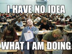 Every law school exam I took...