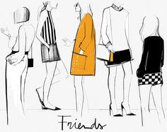 Style...Garance Doré // Friends // illustration //