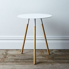 Living Room Table Round Lovely Steel & Wood Round Side Table On Coffee Table Frame, Round Wood Coffee Table, Steel Coffee Table, Steel Table, White Side Tables, Round Side Table, Restaurant Chairs For Sale, Chair Side Table, Desk Chair